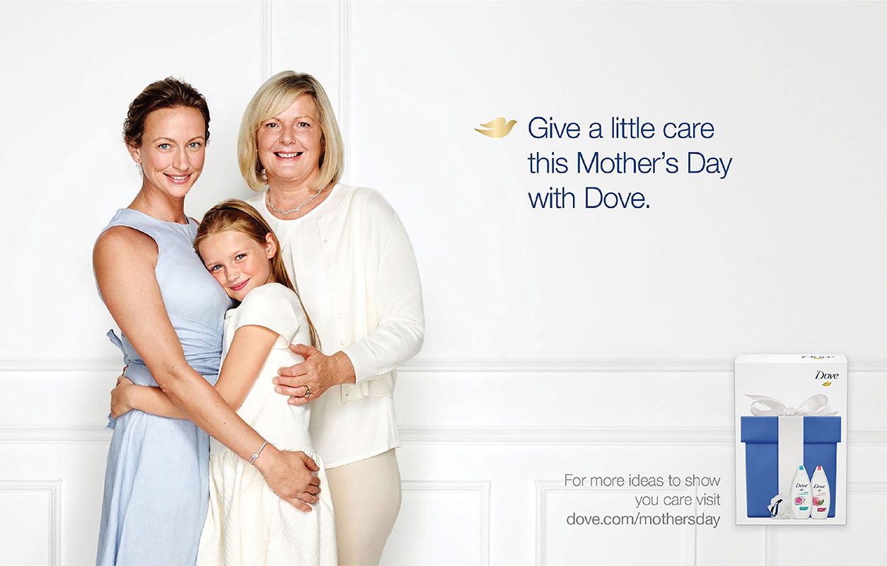Dove Mothers Day Gifting Campaign