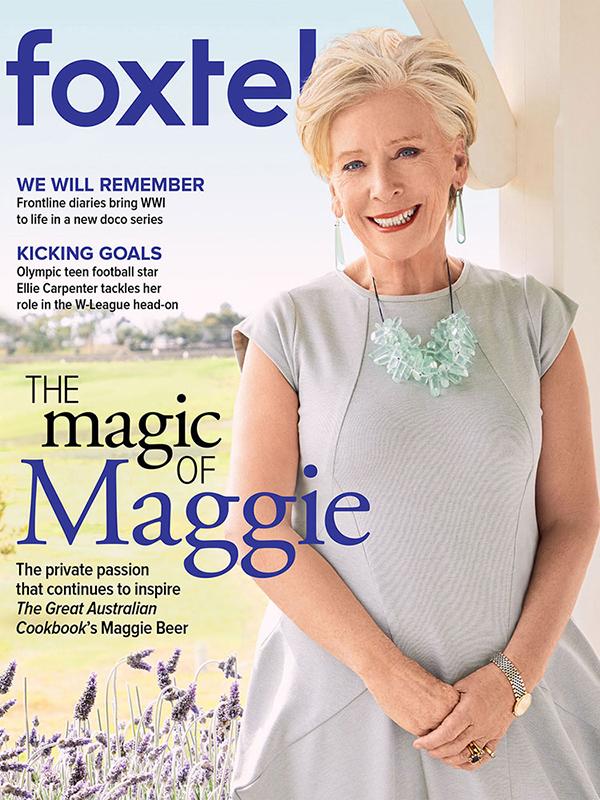Maggie Beer Foxtel Magazine