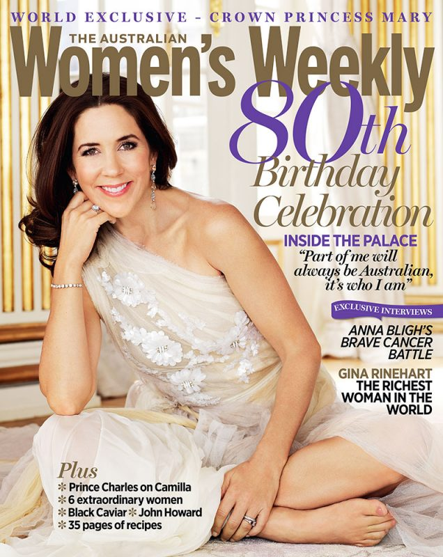 Crown Princess Mary of Denmark The Australian Womens Weekly