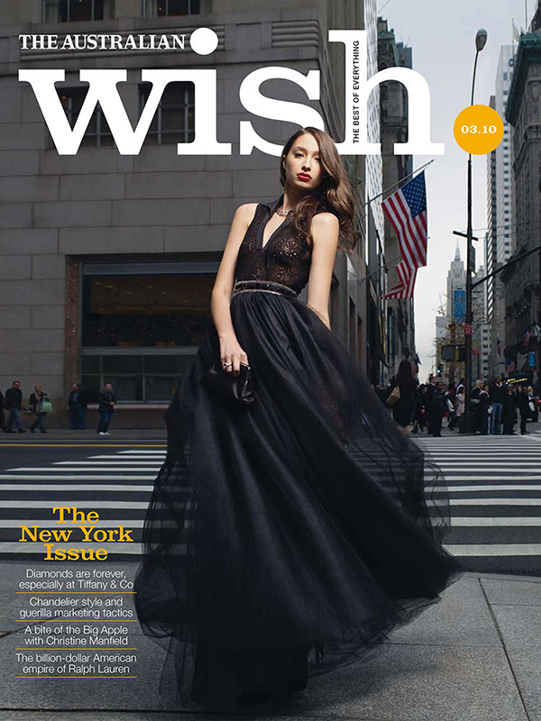 Wish Magazine The Australian Tiffany and Co New York