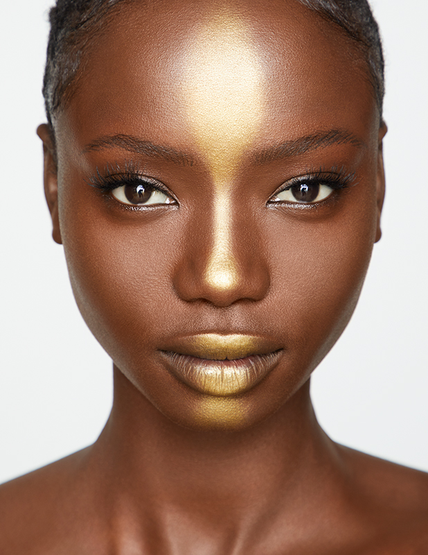 Gold Shimmer Beauty